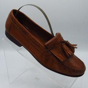 Nodstrom Loafets Kiltie Tassel Size 7 D Hand Craft